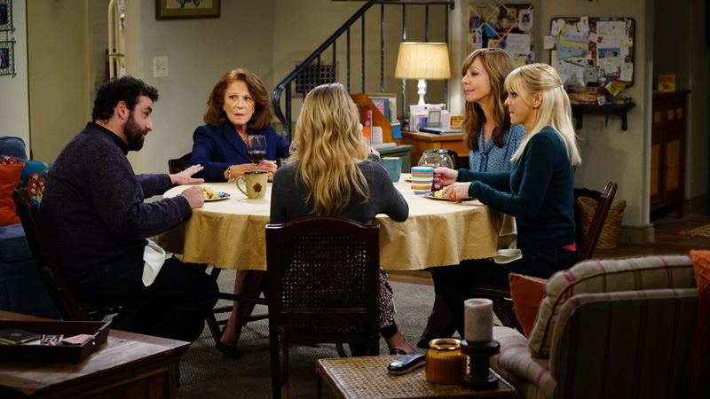 Phyllis keeps things interesting at the table with three generations of Plunkett women.