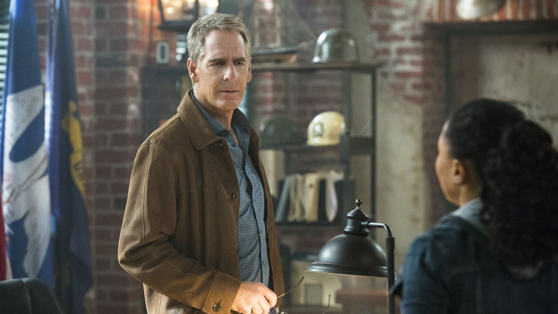 Scott Bakula as Agent Dwayne Pride and Shalita Grant as Sonja Percy