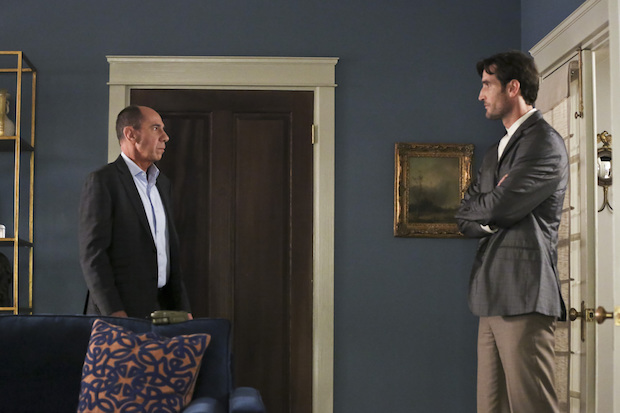 Miguel Ferrer as Owen Granger and Matthew Del Negro as Jack Simon