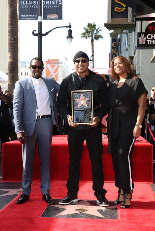 Diddy and Queen Latifah were on hand to celebrate