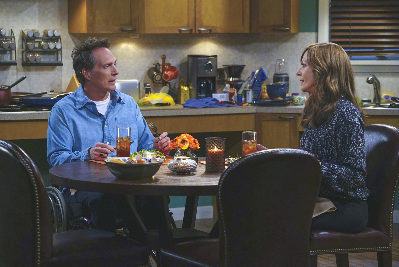 Bonnie asks Adam a serious question about his past.