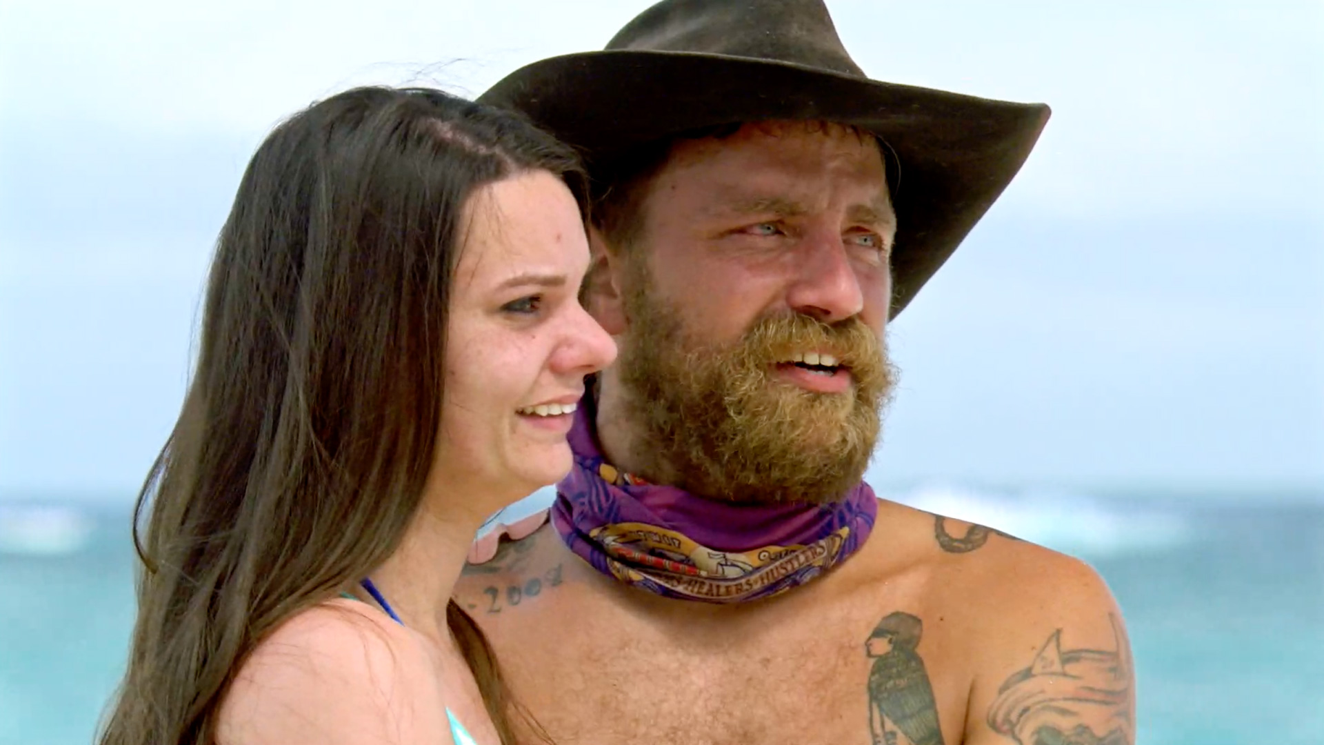 Season 35: Ben Driebergen is surprised by his loving wife.