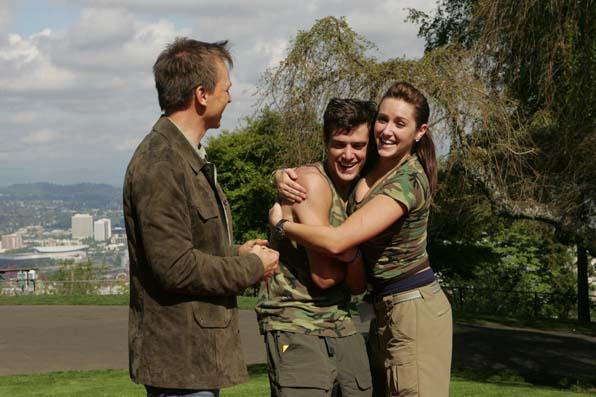 Nick Spangler and Emily
