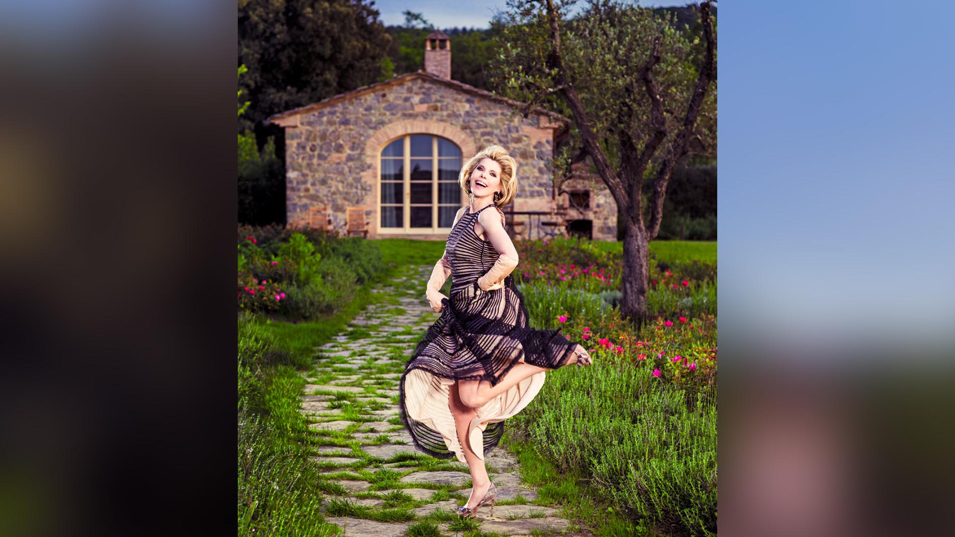 Do what Christine Baranski does. Dance like no one's watching!