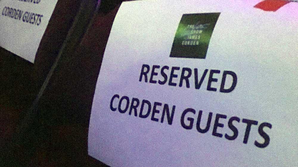 Don't take James Corden's extra seats.