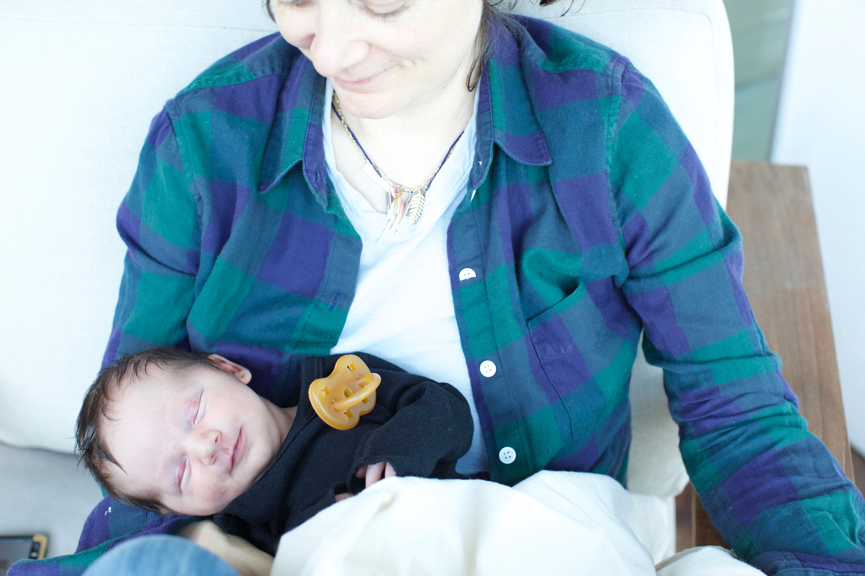 2. Sara Shared A Cute Baby Photo!