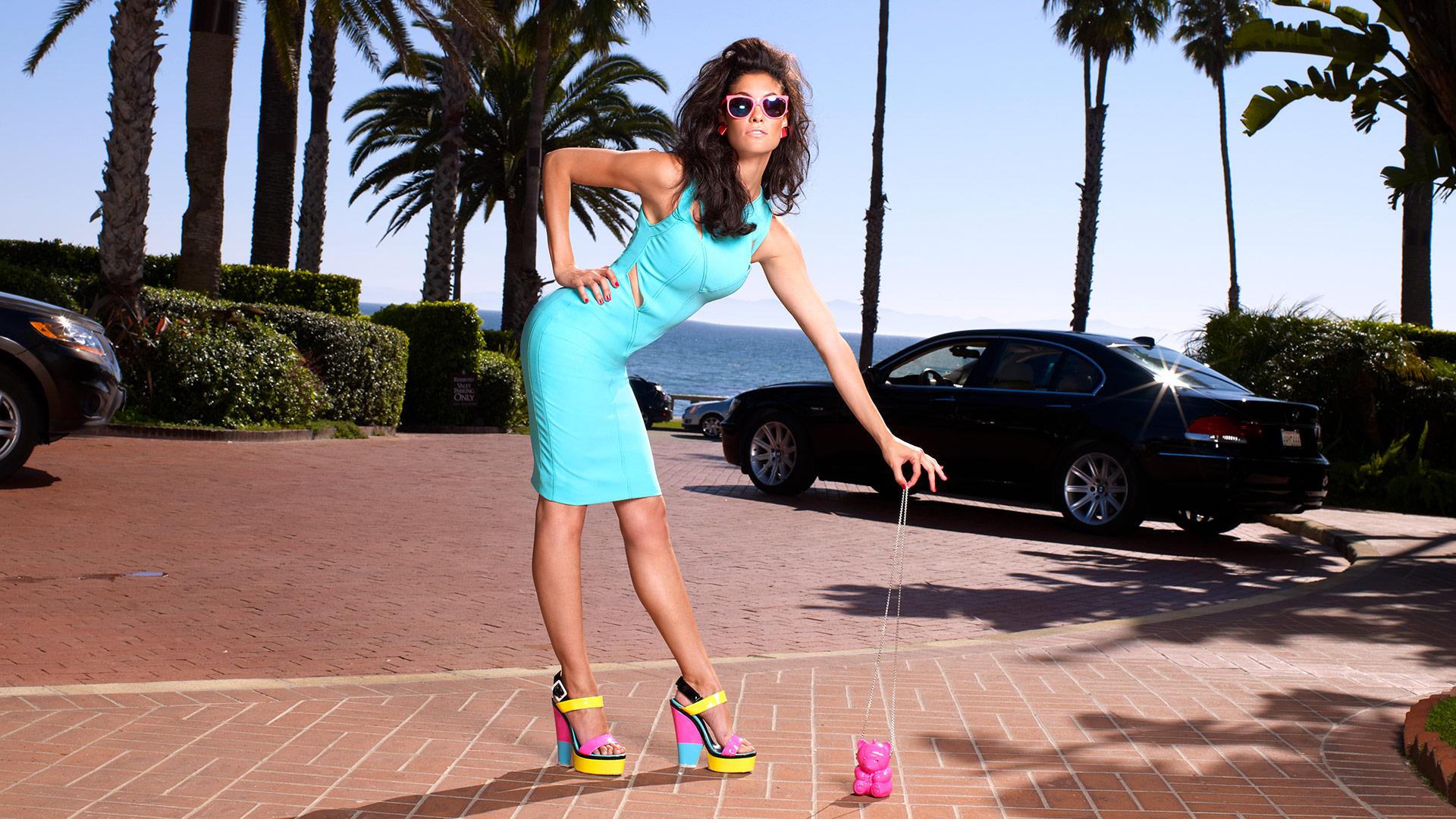 Daniela Ruah, we are so California dreaming...