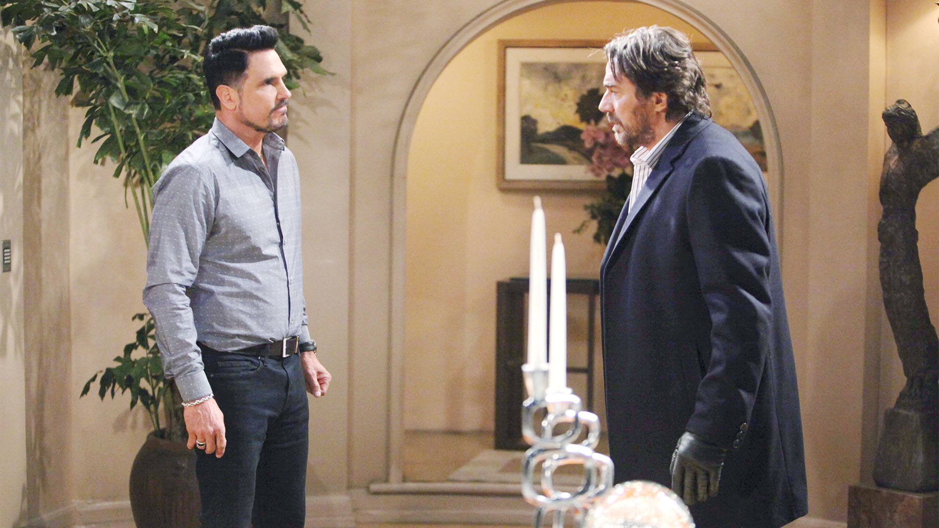 Ridge becomes unhinged over Bill's latest moves on Steffy and decides to take matters in to his own hands.