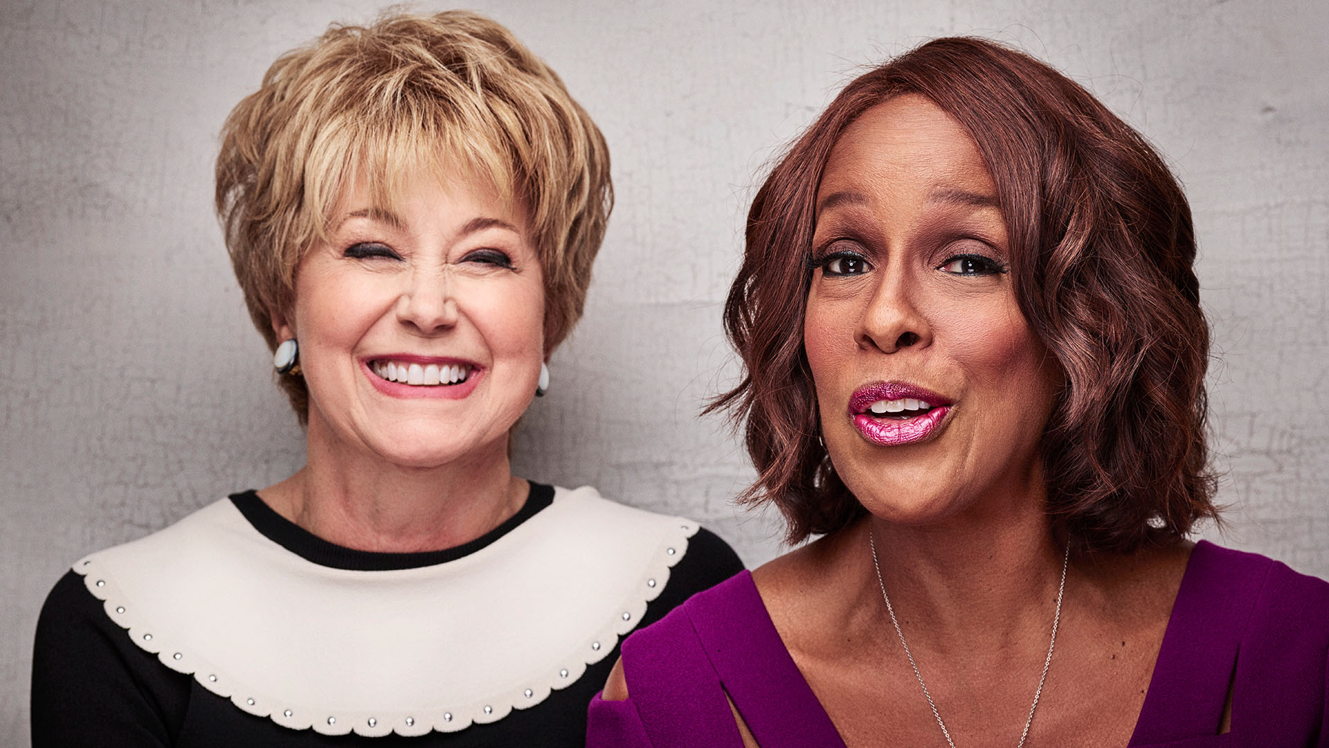 Jane Pauley and Gayle King keep it real