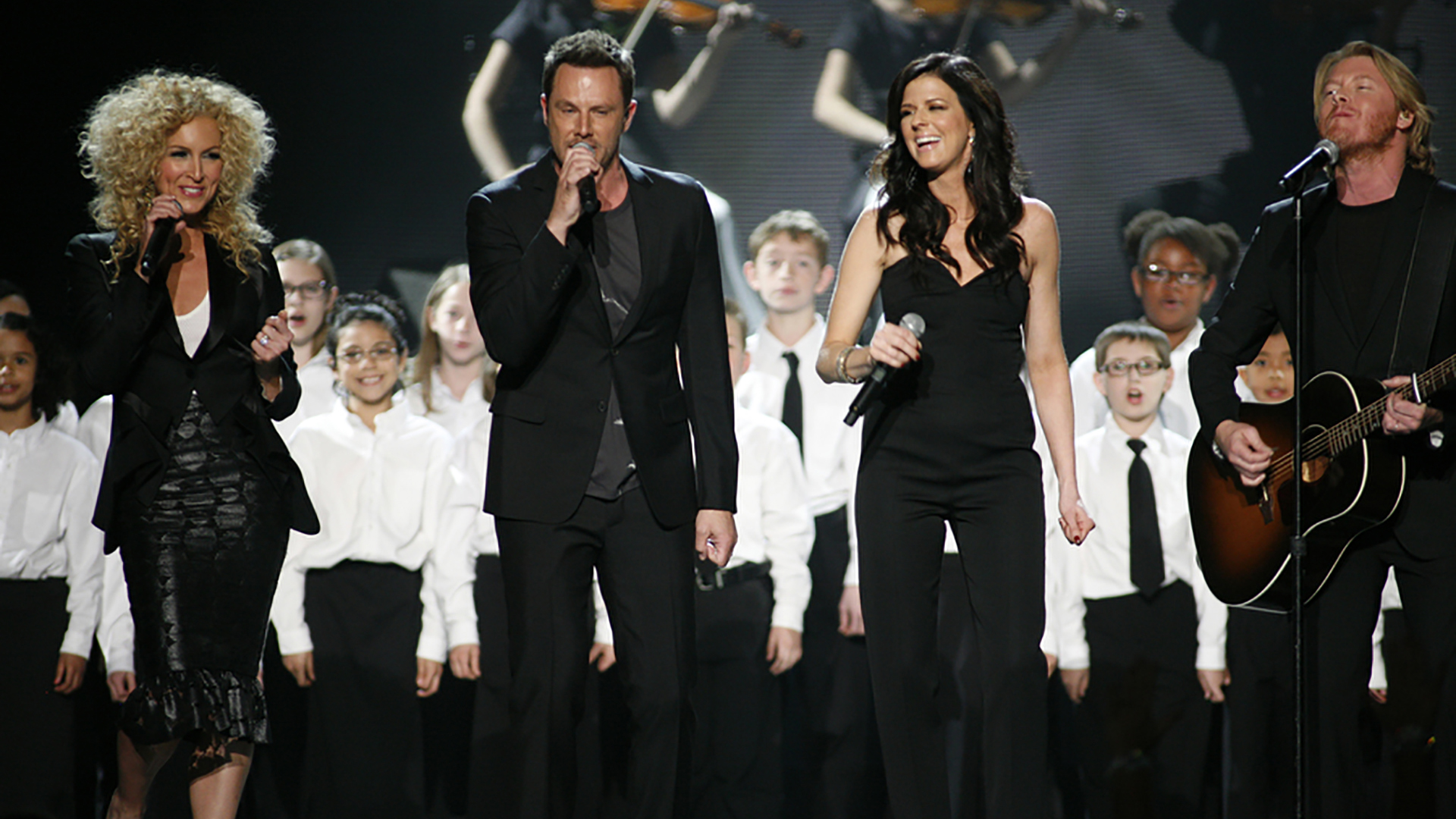 38. Little Big Town perform