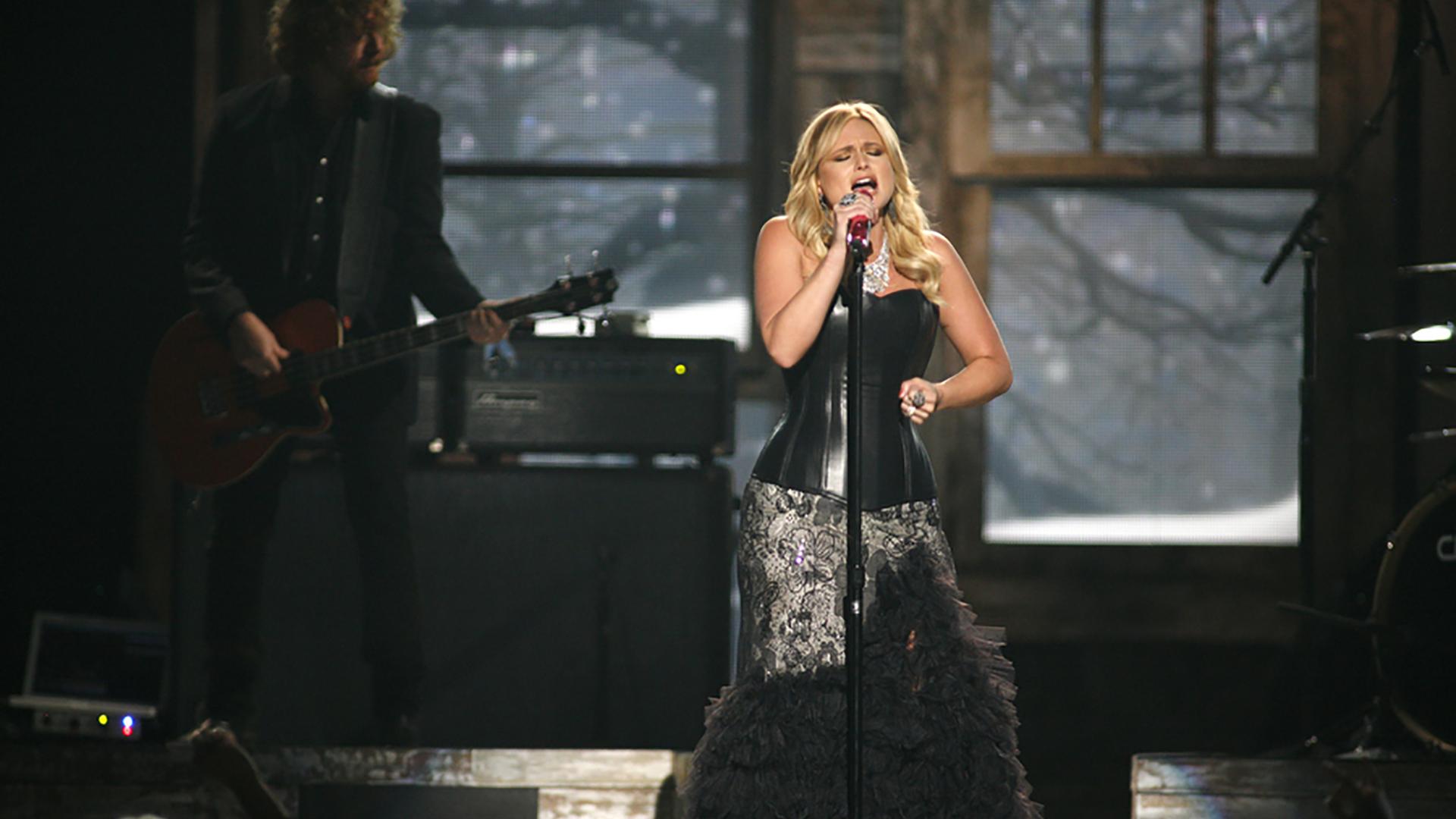 19. Miranda Lambert performs