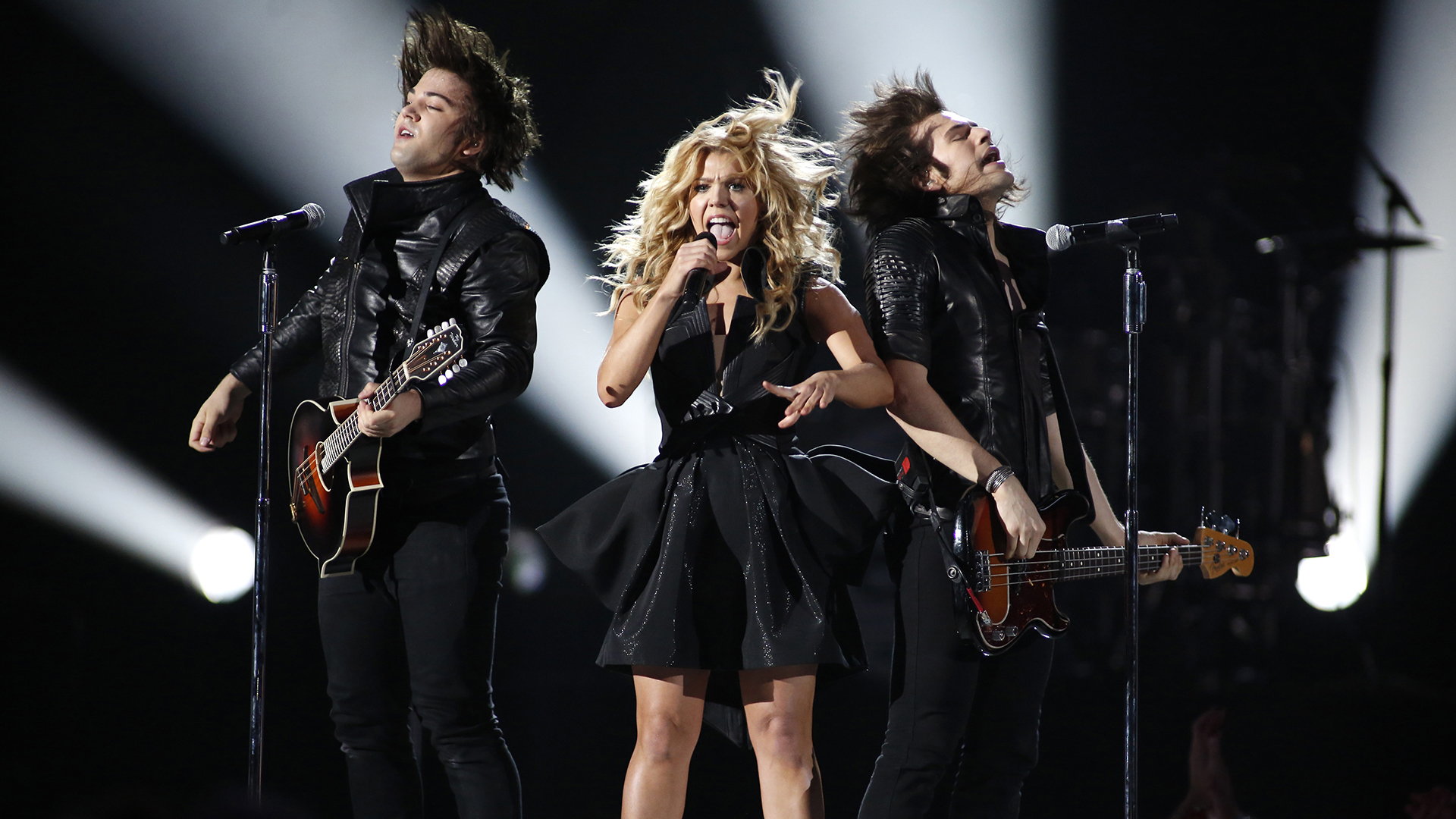 35. The Band Perry perform