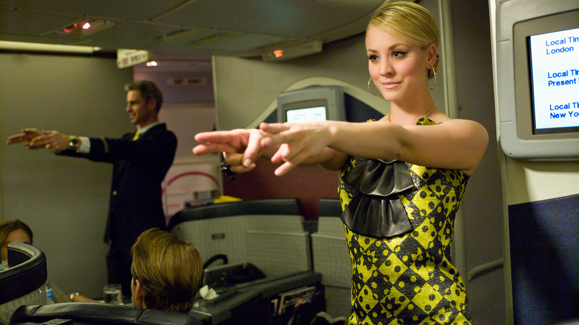 Kaley Cuoco is ready for takeoff