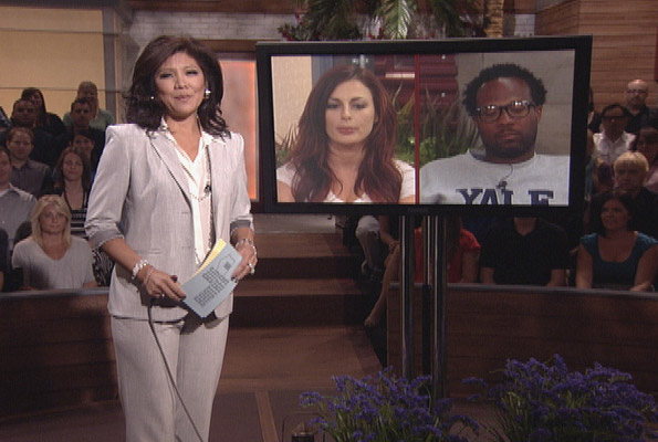 Julie Chen During the Live Eviction