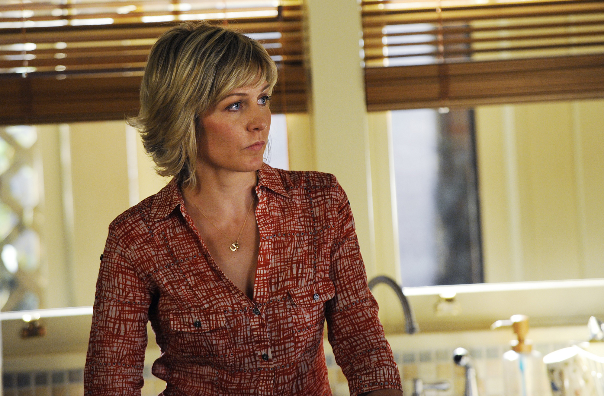 25. Amy Carlson's husband is Syd Butler, bassist in the 8G Band on