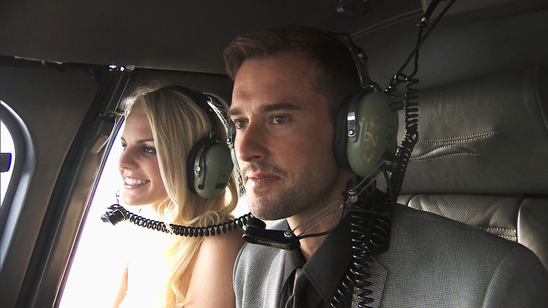 A helicopter ride