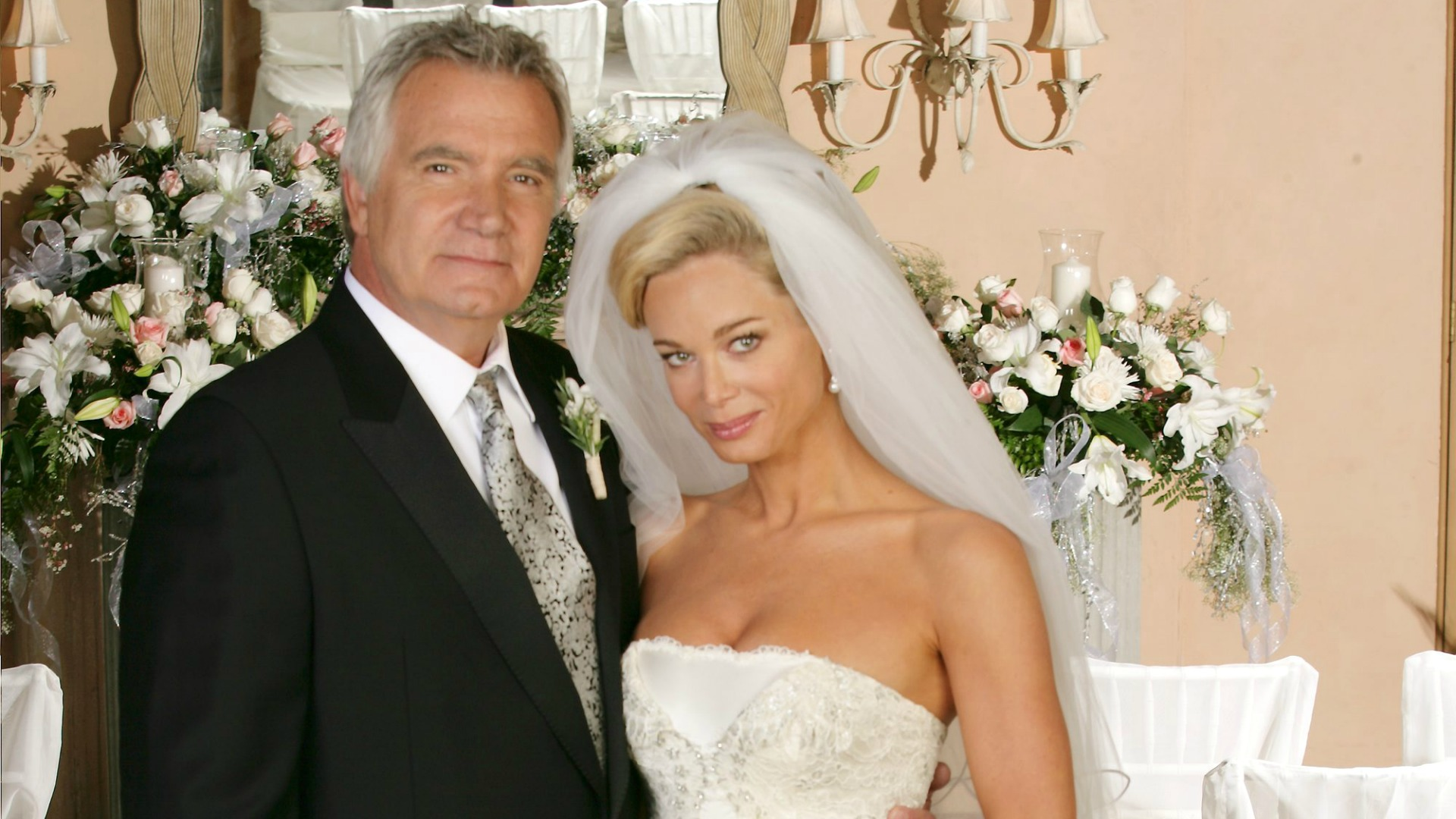 Eric shocked everyone when he took Donna Logan's hand in marriage in 2008.