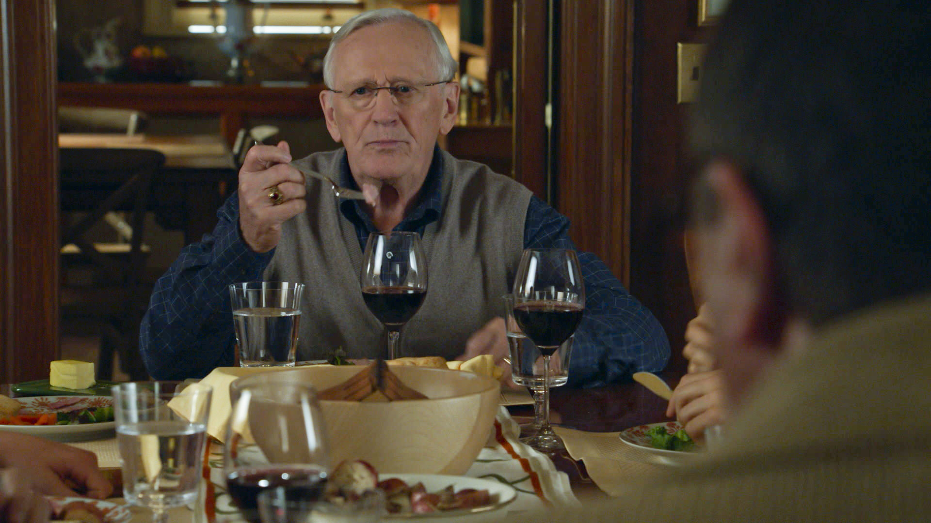 28. Len Cariou loves golf almost as much as he loves his family and friends.