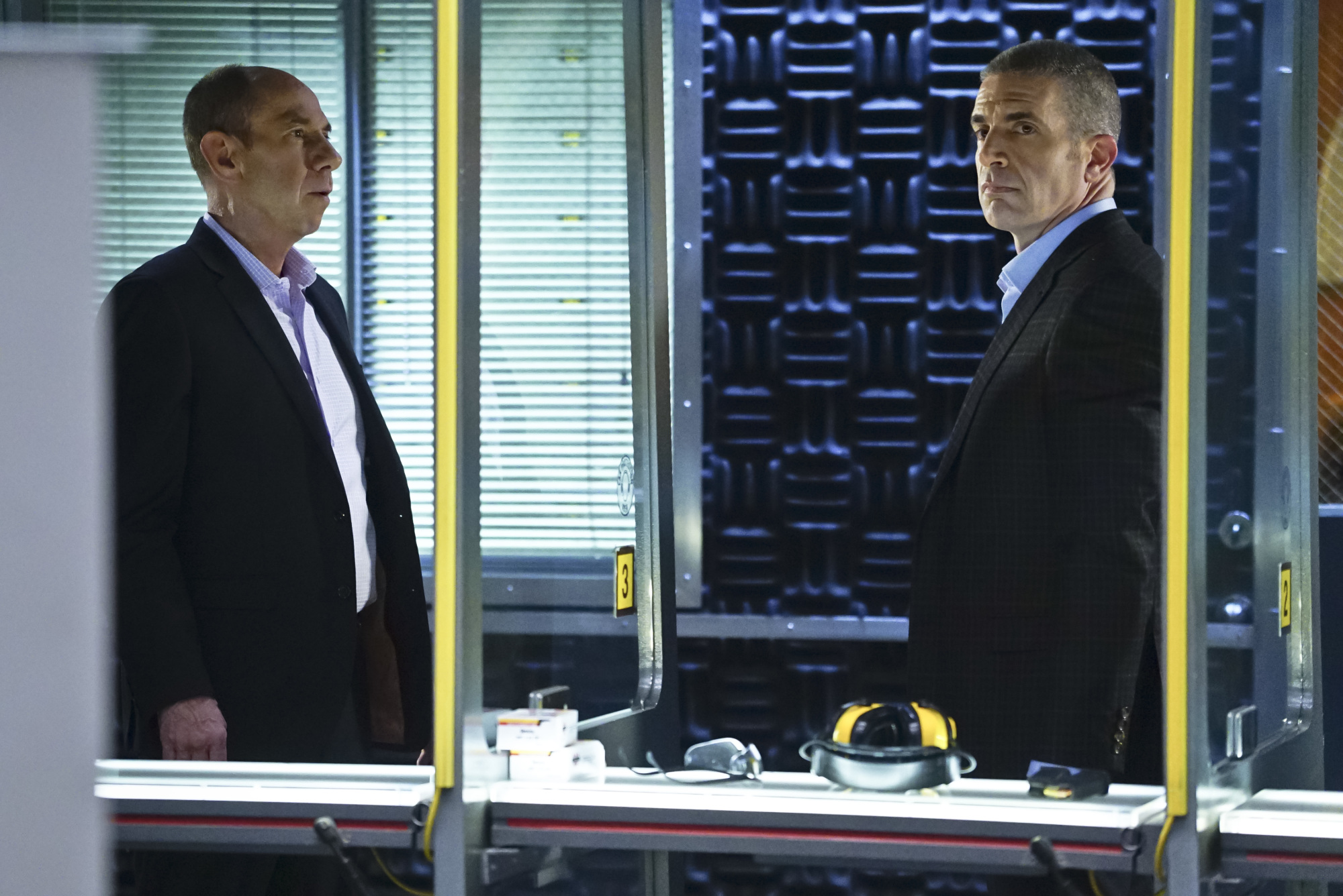 Miguel Ferrer as NCIS Assistant Director Owen Granger and Andrew Traver as NCIS Special Agent Gates)