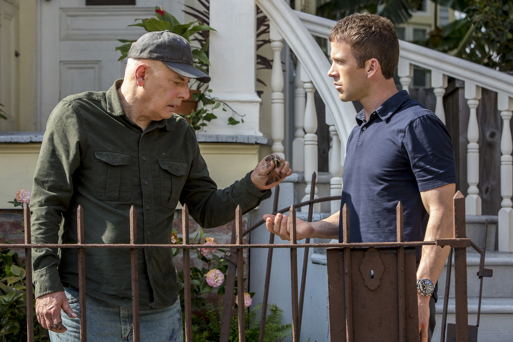 Jude Ciccolella as Former Army Colonel David Peterson and Lucas Black as Special Agent Christopher LaSalle