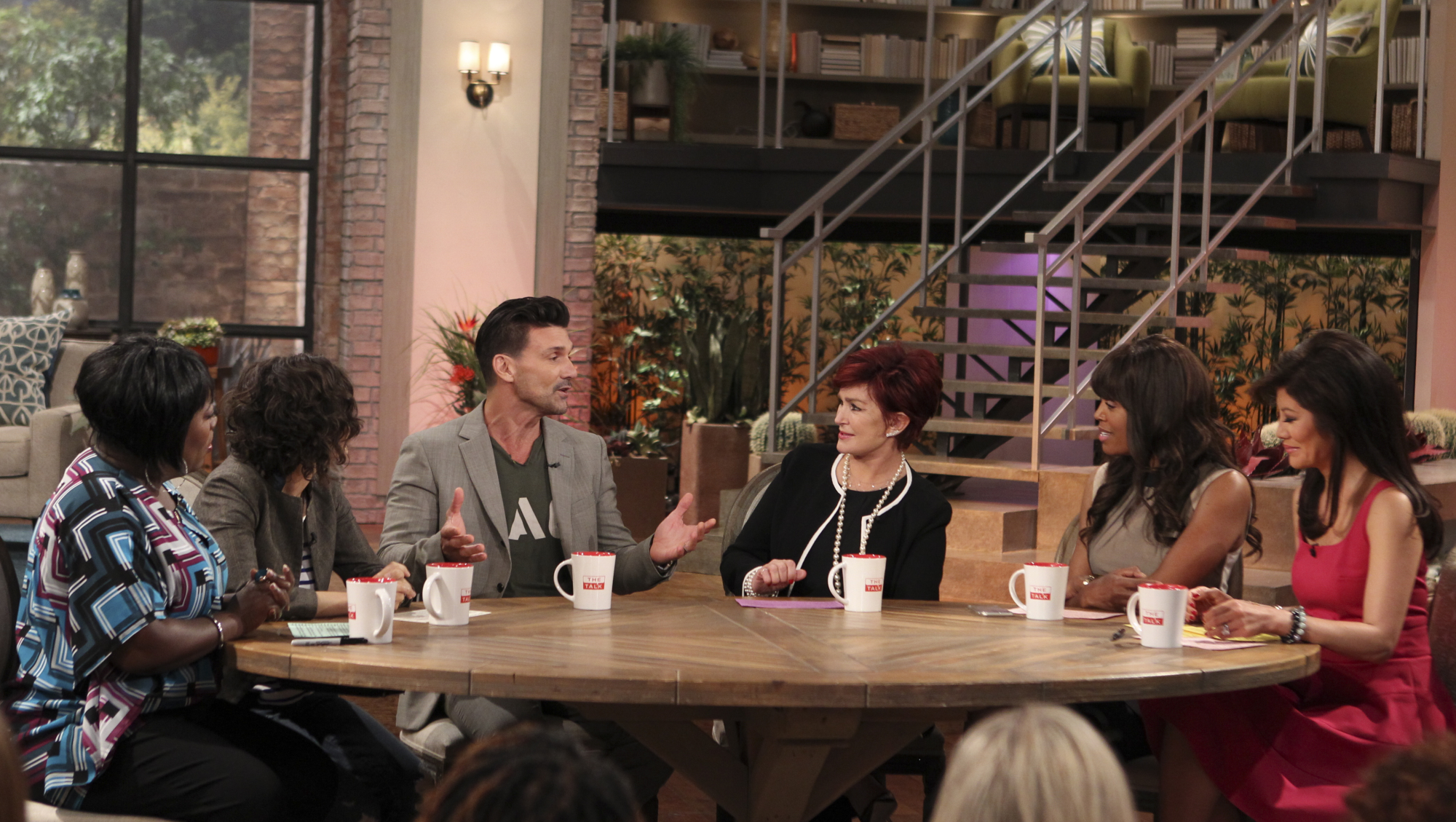 2. Frank Grillo spilling the beans on his new show,