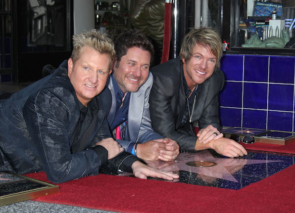 18. Rascal Flatts are loved all over the county, from Nashville to Hollywood.