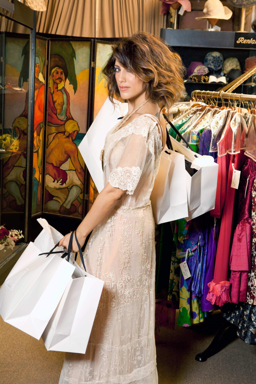 Jennifer shops like it's haute