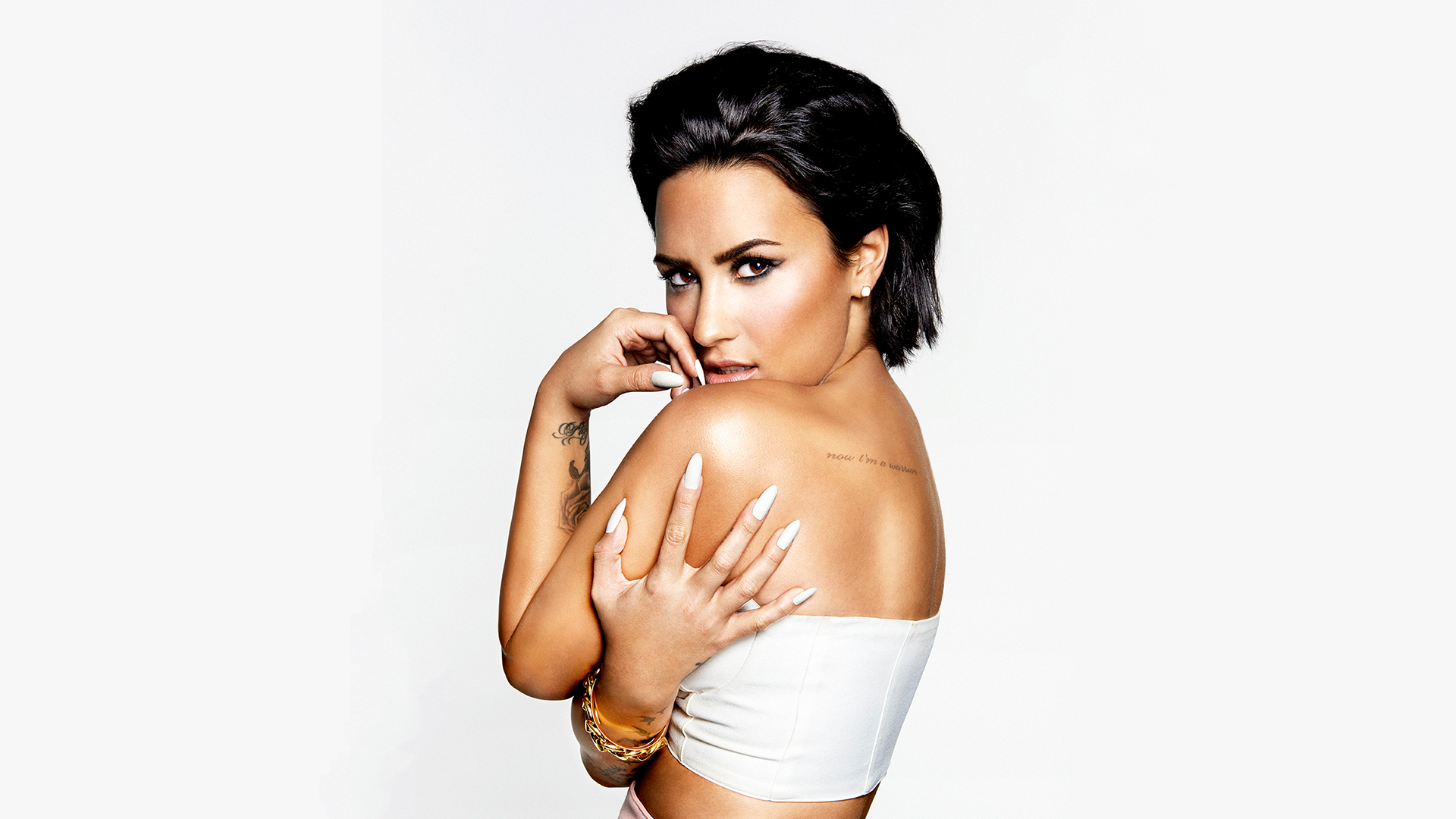 Demi Lovato proves there's nothing wrong with being