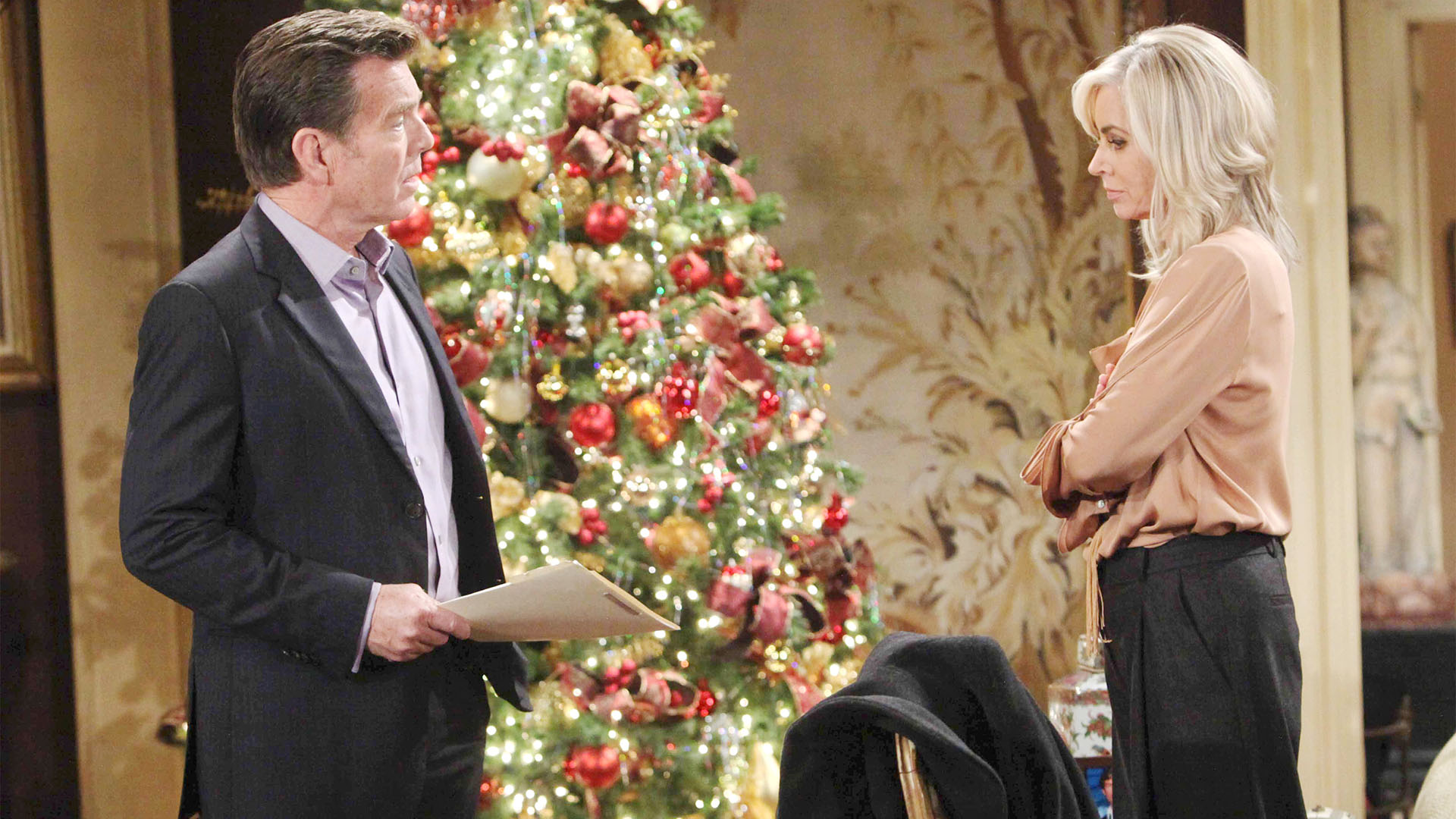 Jack struggles to care for Dina.