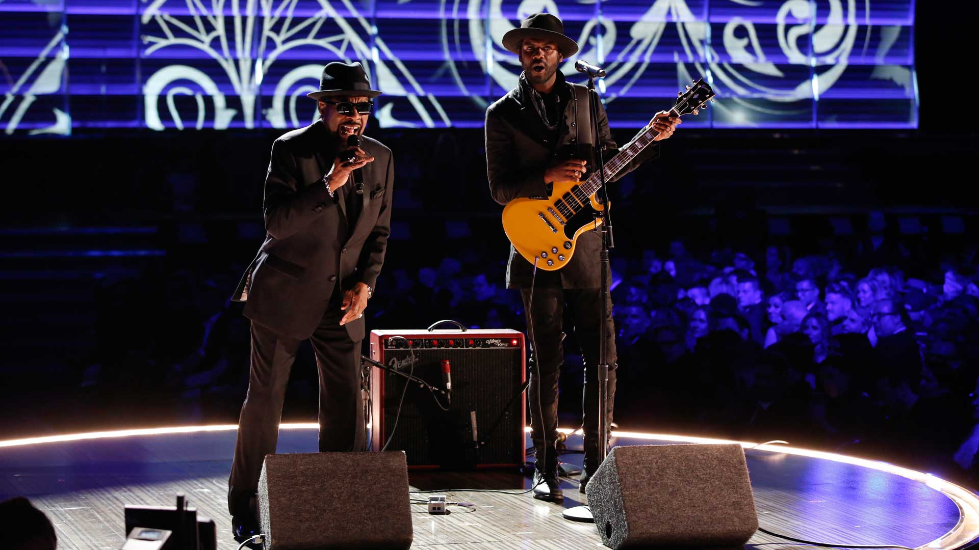 William Bell and Gary Clark Jr. perform