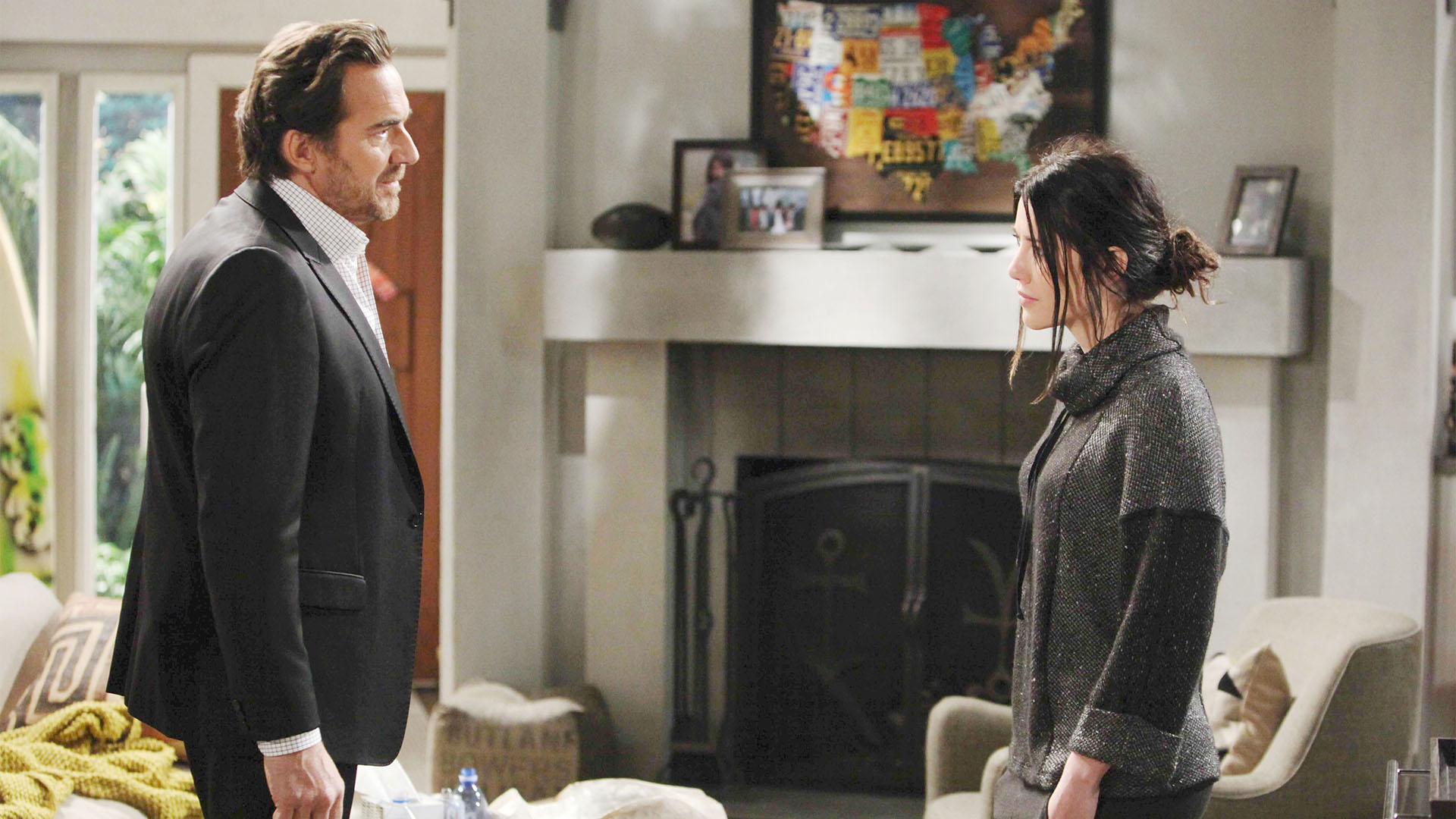 Ridge has a major meltdown upon learning of Steffy and Dollar Bill's night together.