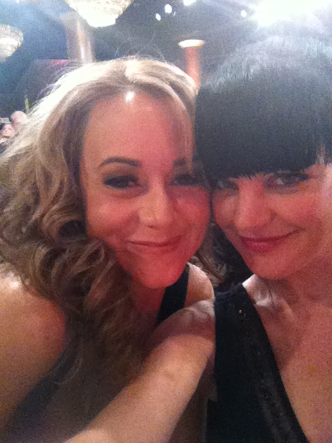 Pauley & Megyn Price!