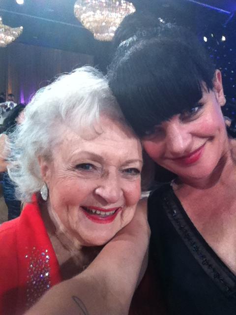 Pauley & Betty White