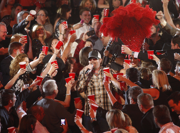 15. Artists make the biggest toasts at the ACMs.