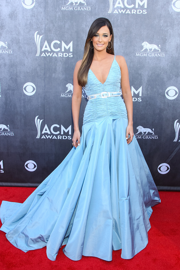 14. The ladies wear the biggest, most beautiful gowns.