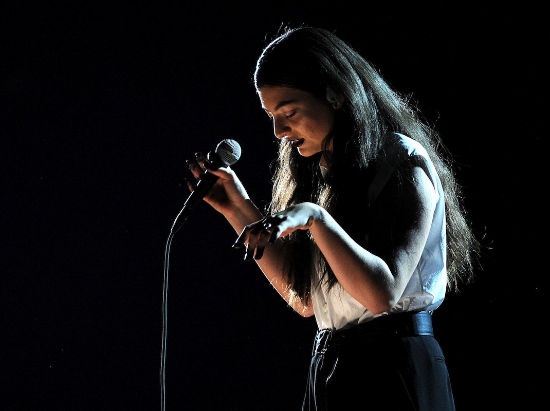 The time Lorde took the stage