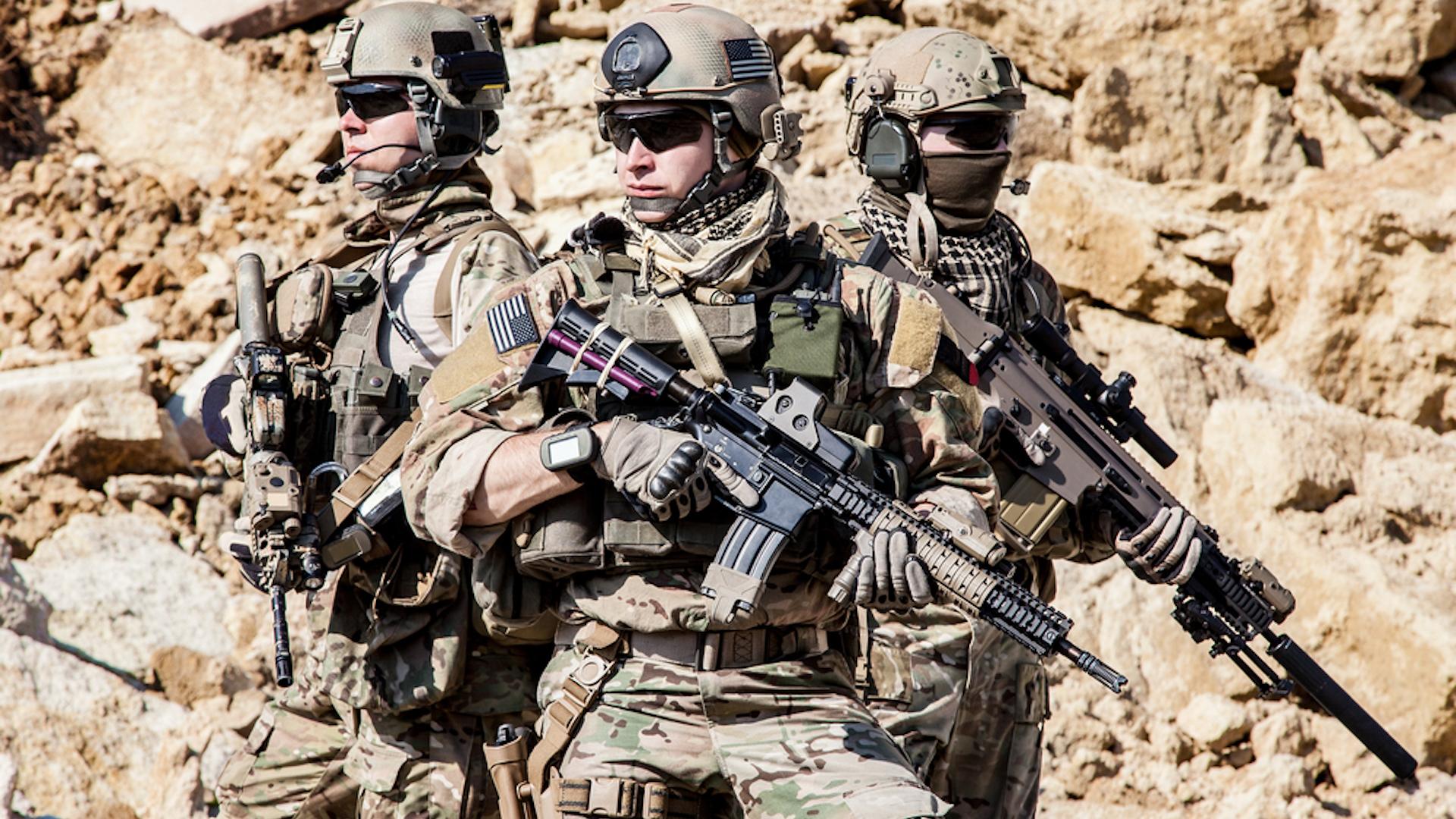 Troops overseas