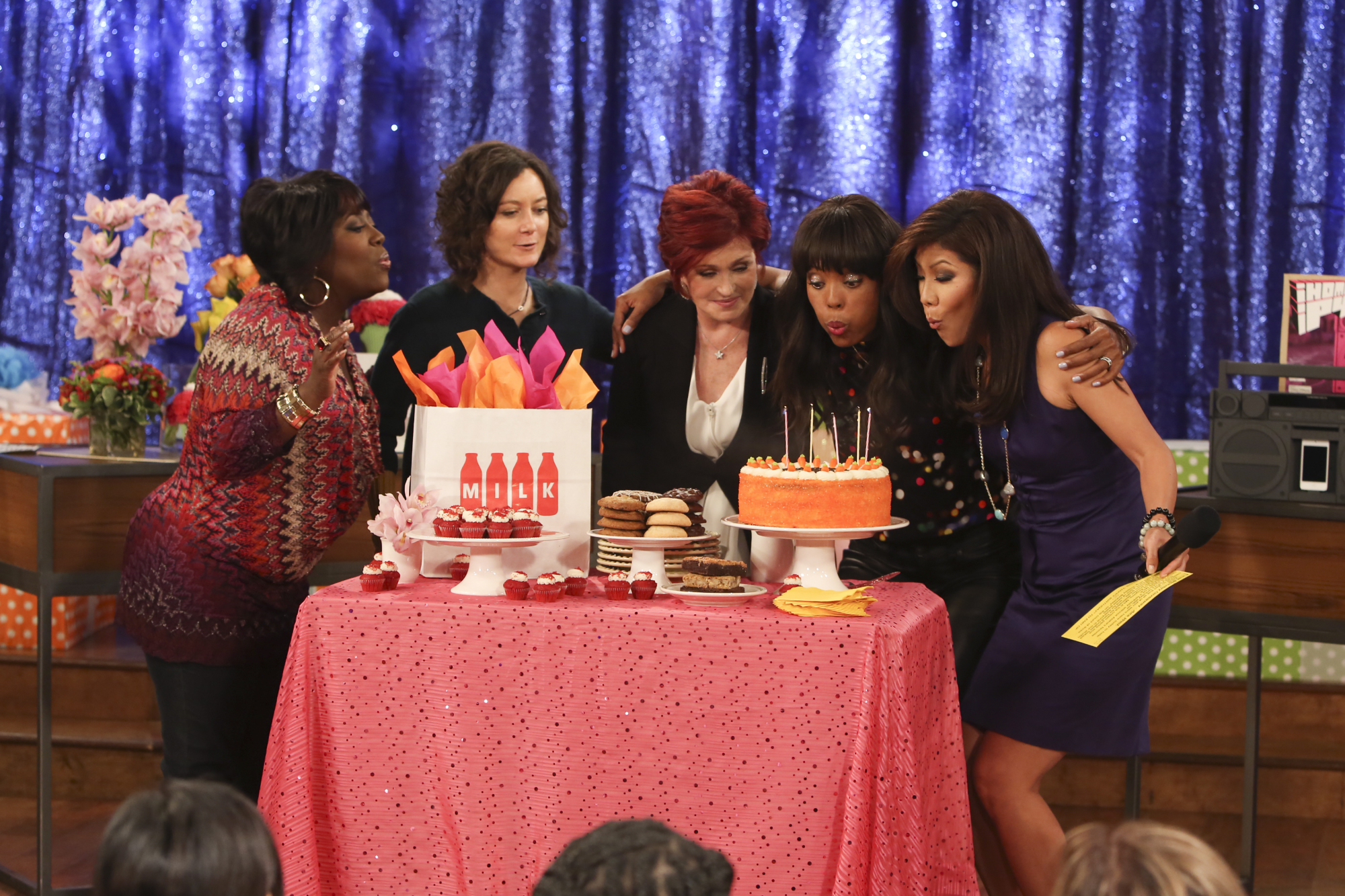The Ladies Celebrate Aisha's Birthday.