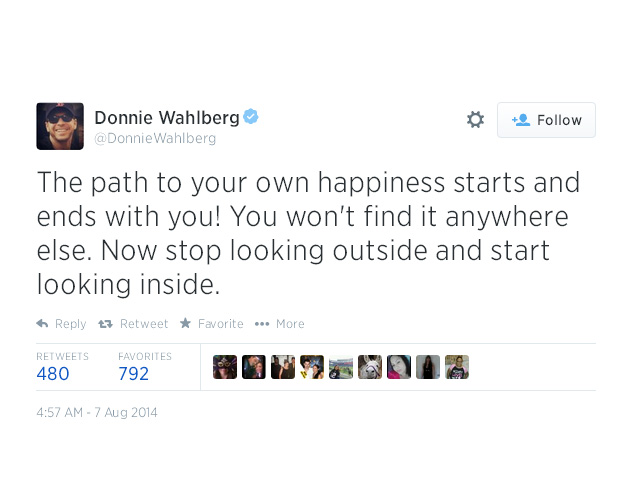 5.  The path to your own happiness starts and ends with you!