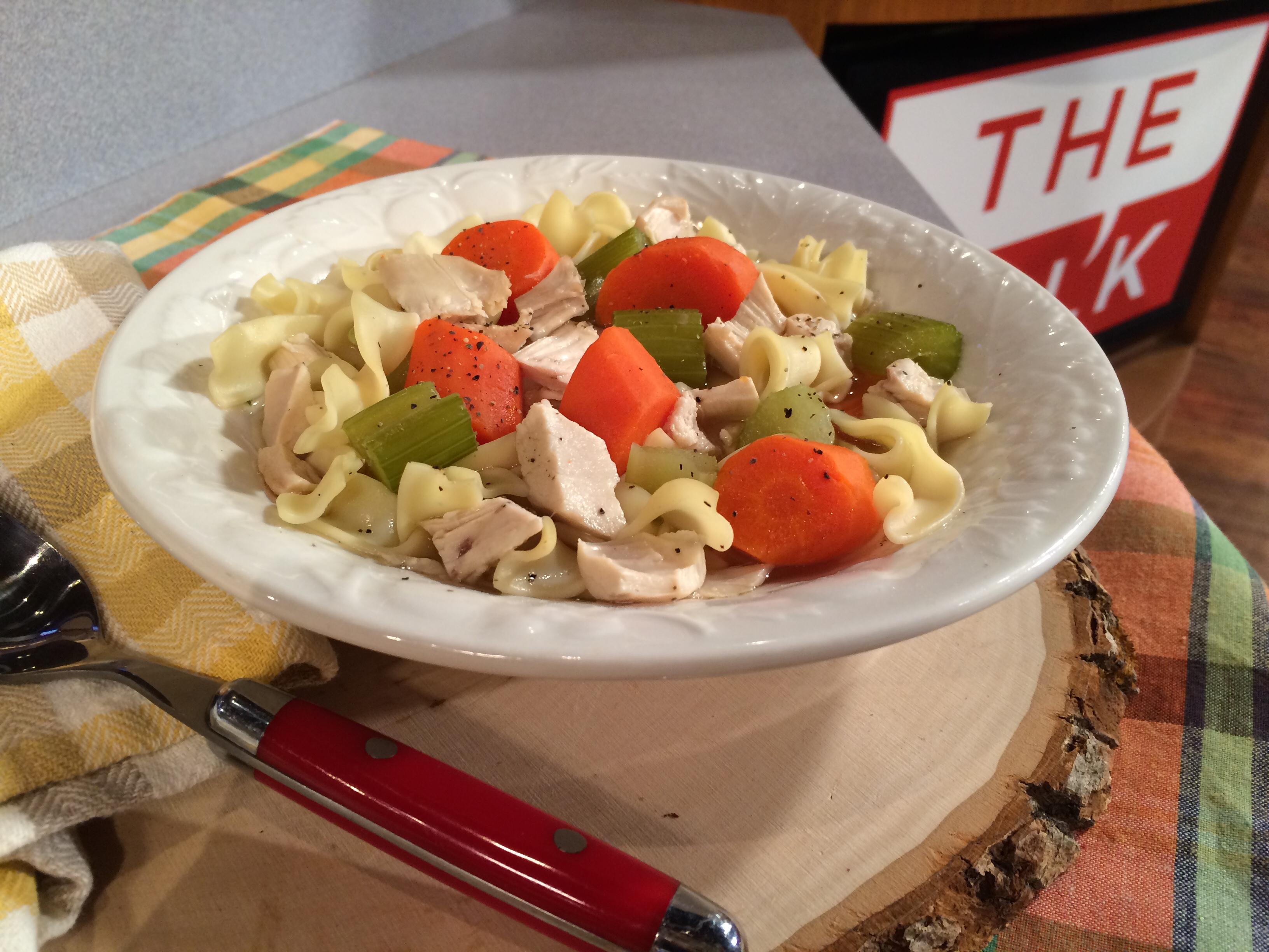 8. Chicken Noodle Soup!