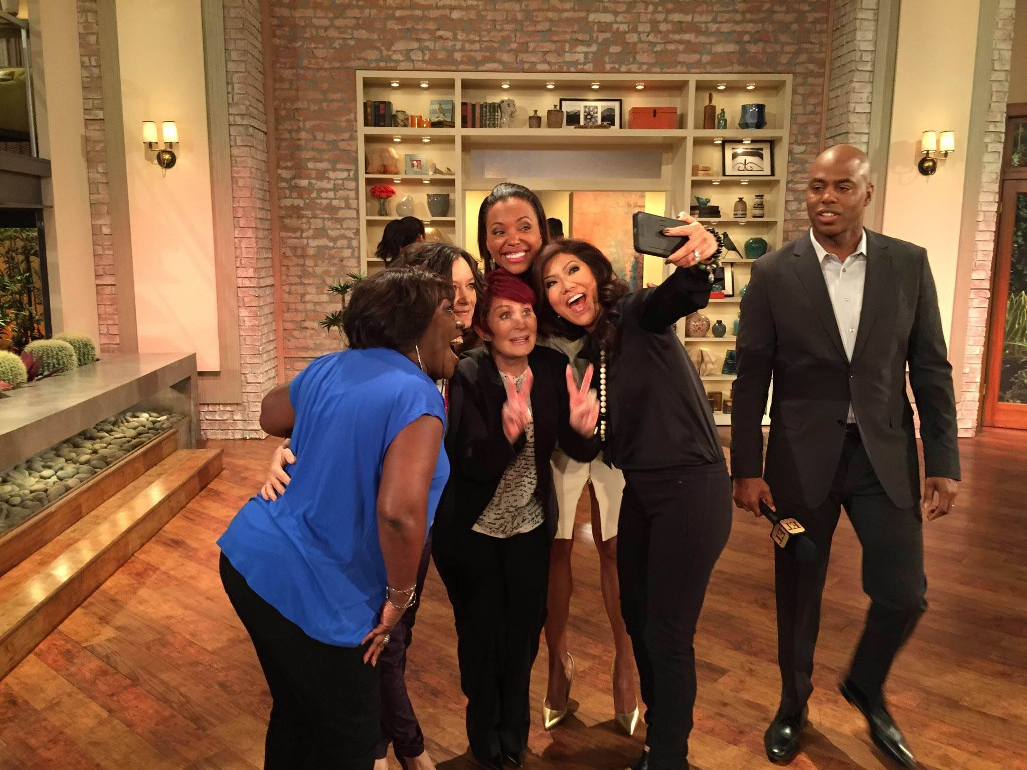 4. The Ladies Were Excited About THE TALK's Daytime EMMYs Nominations.