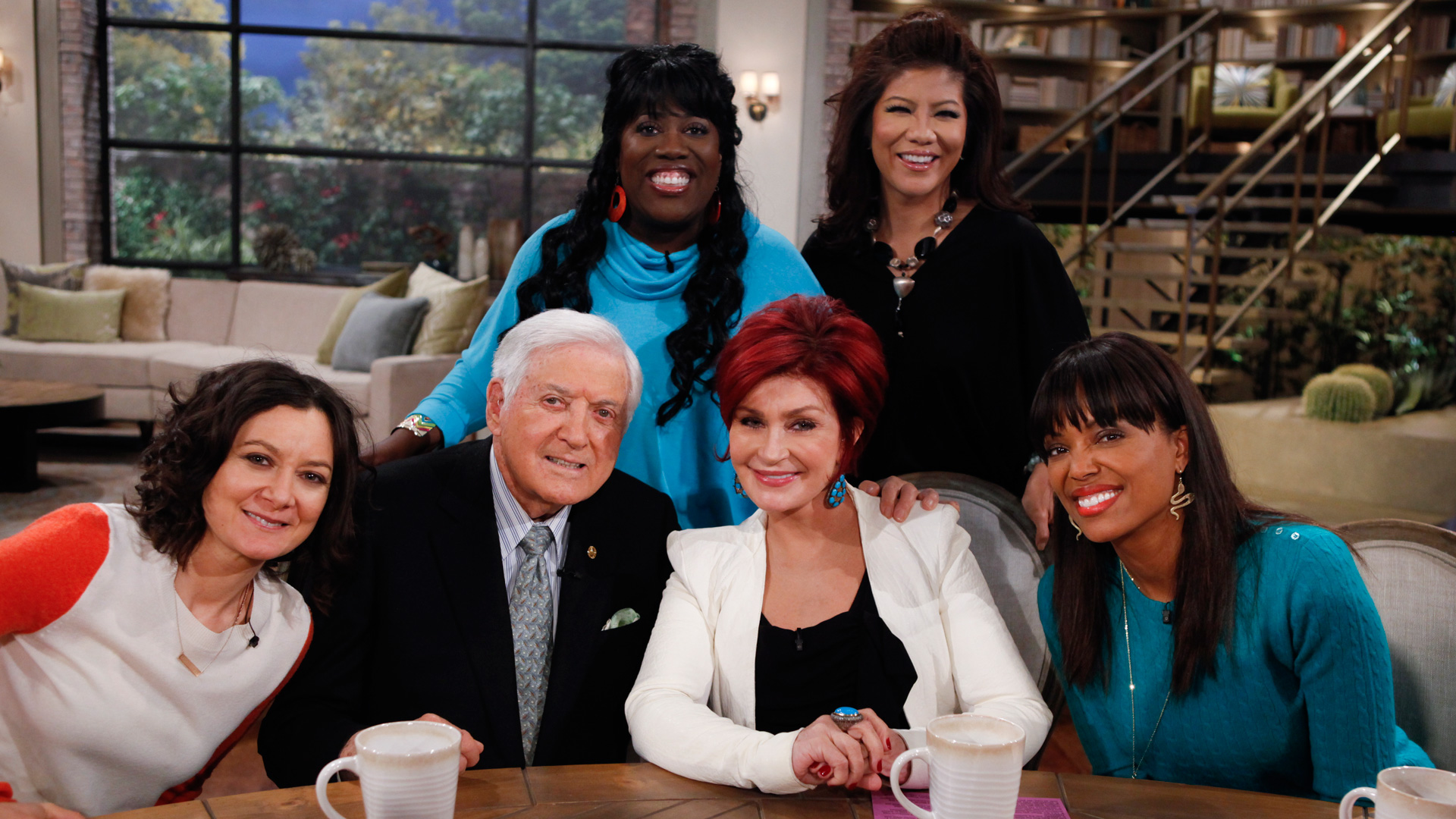 Monty was a guest on The Talk.