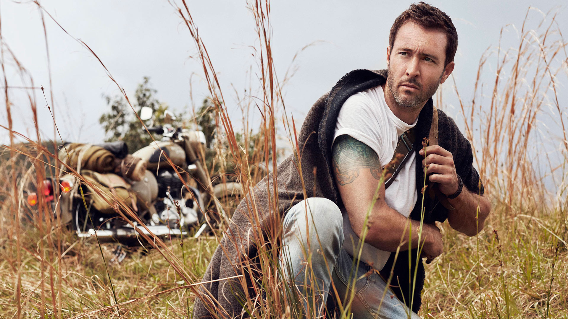 Another day in paradise with Alex O'Loughlin