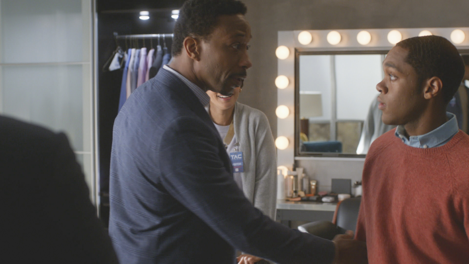 William Henderson confronts his son.