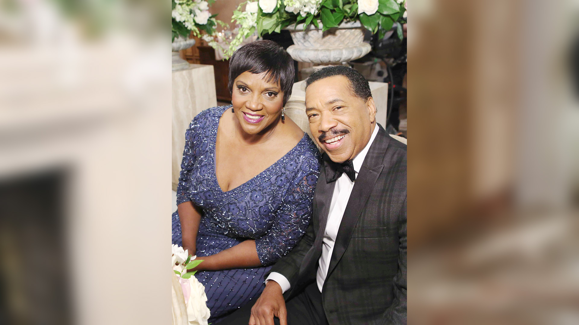Vivienne Avant (Anna Maria Horsford) and Julius Avant (Obba Babatundé) looking happy as ever.