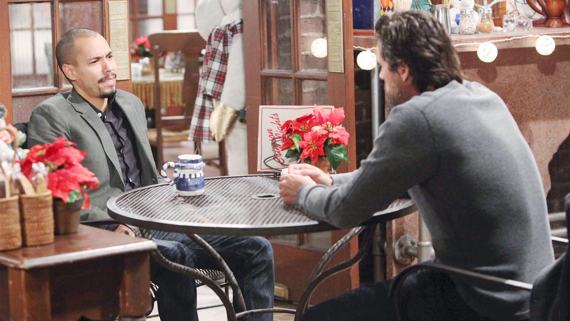 Nick asks Devon for help.