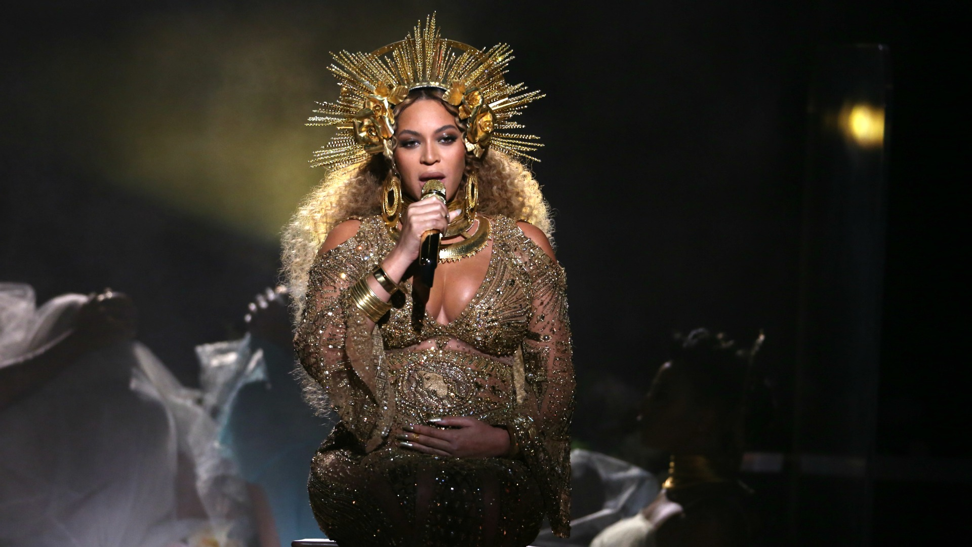 Beyoncé proved she's, in fact, a true queen with her powerful GRAMMY performance of