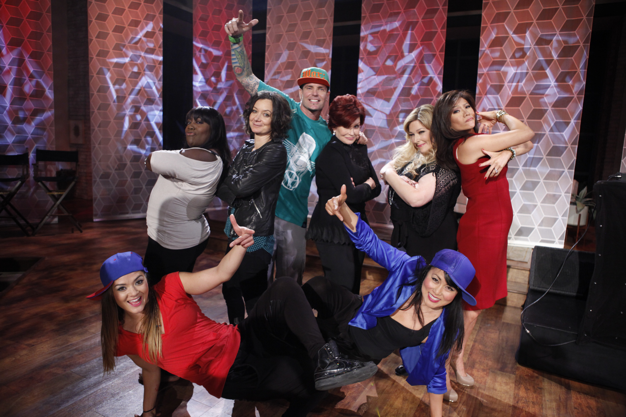 The Ladies With Vanilla Ice.