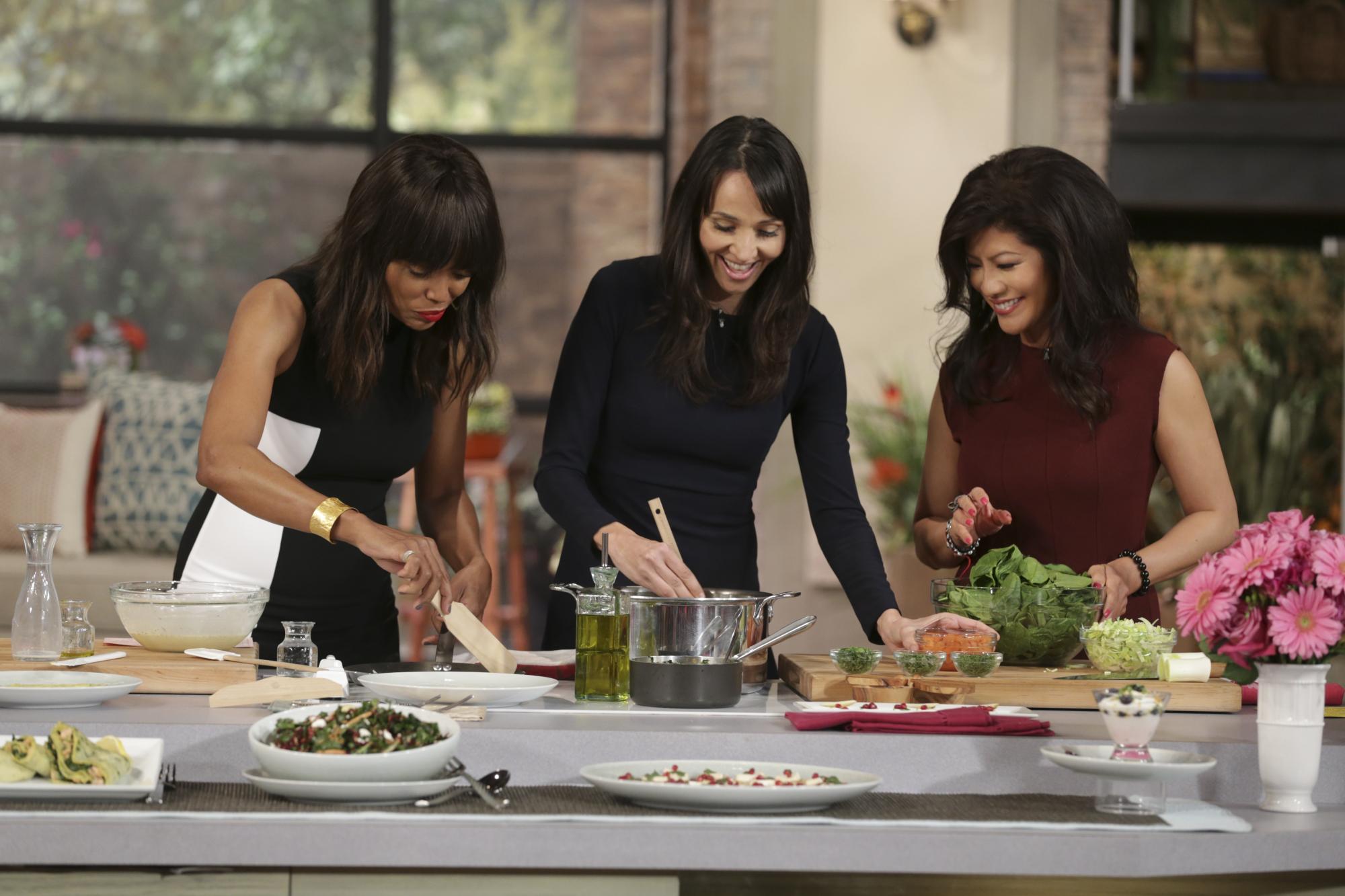 7. Marisa Churchill shared healthy recipes.