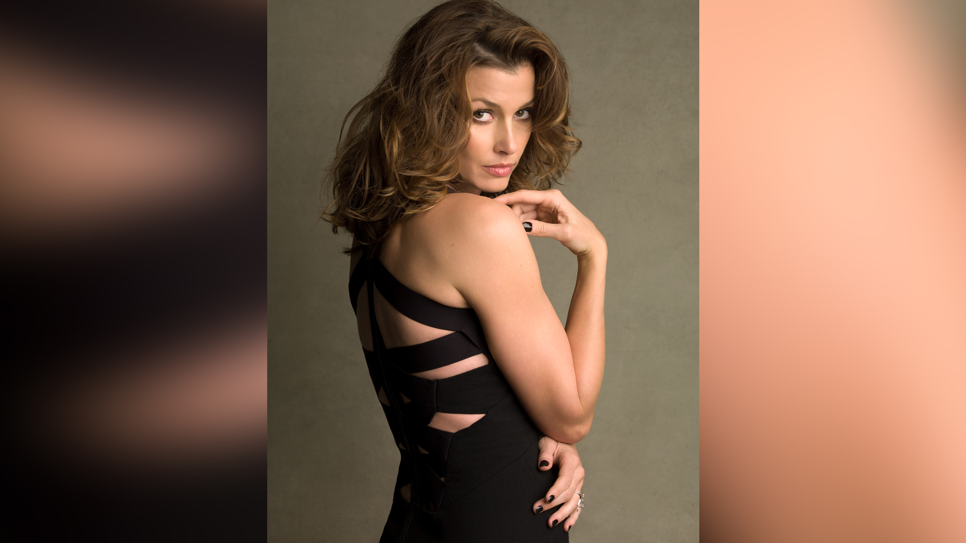 Former model Bridget Moynahan has mastered the sultry stare